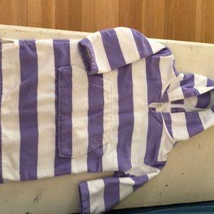 Pottery barn kids swim cover up size 2/3